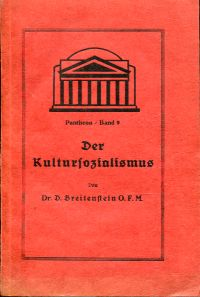 Der  Kultursozialismus.