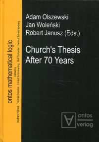 Church's thesis after 70 years.