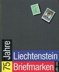 75 Jahre Liechtenstein-Briefmarken. 1912 - 1987.