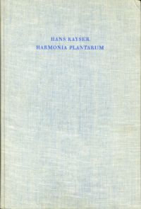 Harmonia plantarum.