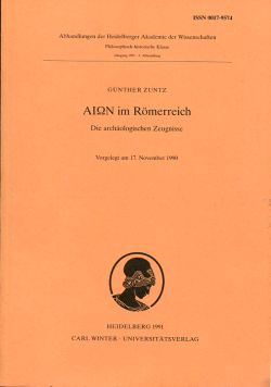 Aion im Römerreich. Die archäologischen Zeugnisse.