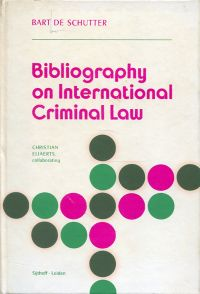 Bibliography on international criminal law.