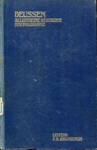 Allgemeine Geschichte der Philosophie mit besonderer Berücksichtigung der Religionen. Band 1/Zweite Abtheilung: Die Philosophie des Upanishad's