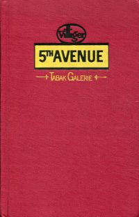 5th Avenue. Tabakgalerie. 4. Katalog 1979/80.