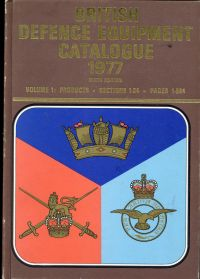 British defence equipment catalogue 1977, Vol. 1: Products, Sections 1-24, Pages 1-584,