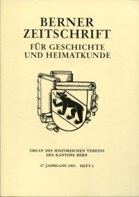 Das Monbijou-Mattenhof-Quartier. Angebunden: Walser, Gerold: Das Itinerar der Berner im Pavier Feldzug von 1512.